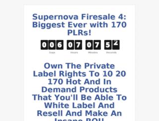 supernovafiresale.com screenshot