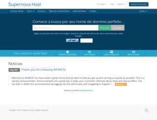 supernovahost.com.br screenshot