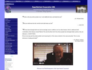 supernutrient.com screenshot