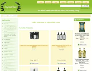 superoliveoil.com screenshot