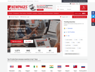 superpages.com.my screenshot