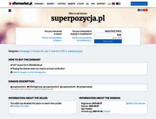 superpozycja.pl screenshot