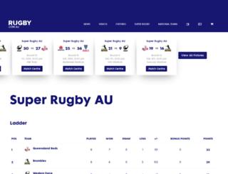 superrugby.com.au screenshot