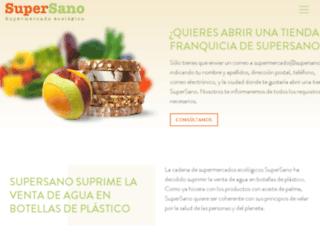 supersano.es screenshot