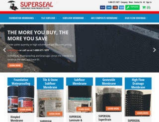 superseal.ca screenshot