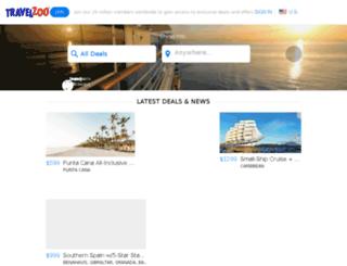 supersearch.travelzoo.com screenshot