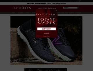 supershoes.com screenshot