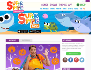 supersimplelearning.com screenshot