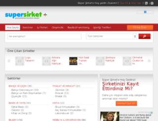 supersirket.com screenshot