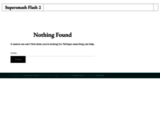 supersmashflash-2.com screenshot