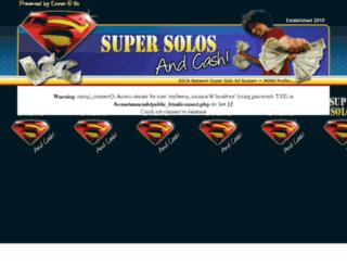 supersolosandcash.com screenshot
