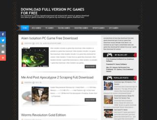 supersonicgamez.blogspot.com screenshot