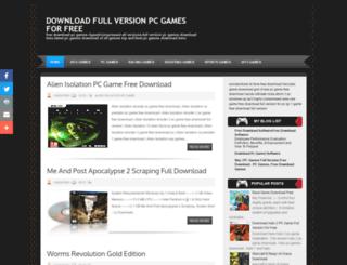 supersonicgamez.blogspot.in screenshot