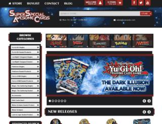 superspecialawesomecards.com screenshot