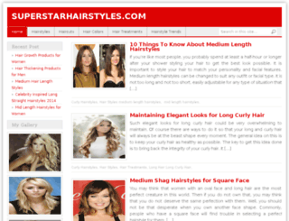 superstarhairstyles.com screenshot