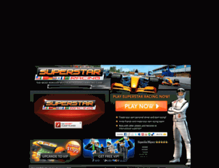 superstarracing.net screenshot
