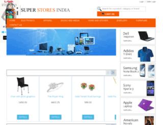 superstoresindia.com screenshot