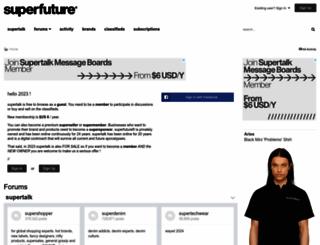 supertalk.superfuture.com screenshot