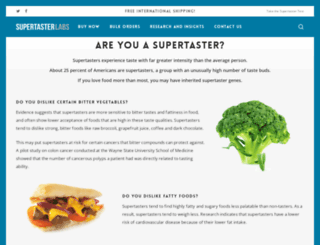 supertastertest.com screenshot