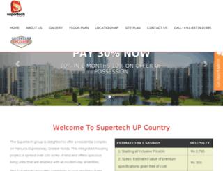 supertechupcountry.in screenshot