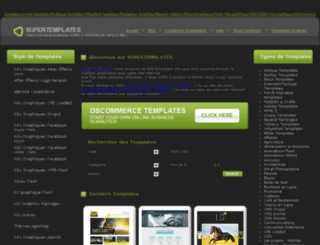 supertemplates.info screenshot