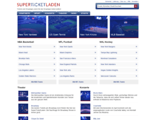 superticketladen.com screenshot