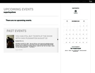supertoyshow.ticketleap.com screenshot