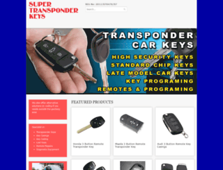 supertransponderkeys.co.za screenshot