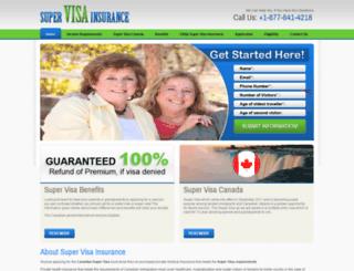 supervisainsuranceforcanada.com screenshot