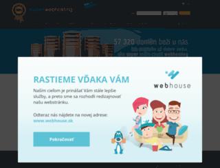 superwebhosting.sk screenshot