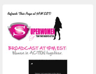 superwomanmentor.com screenshot