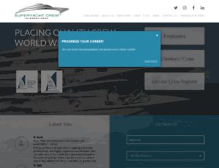 superyachtcrew.com.au screenshot