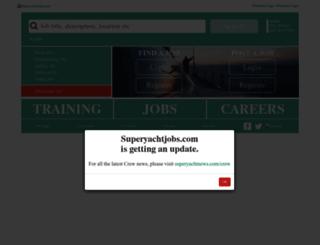 superyachtjobs.com screenshot