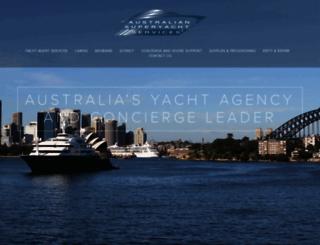 superyachts.com.au screenshot