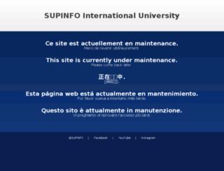supinfo-projects.com screenshot