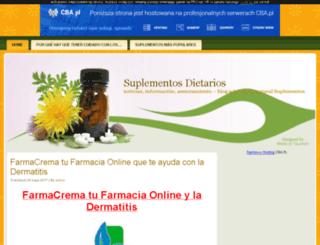 suplementos.y0.pl screenshot