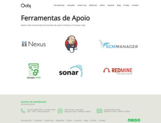 suporteoobj.com.br screenshot