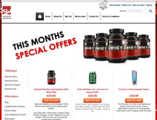 supplement-warehouse.co.uk screenshot