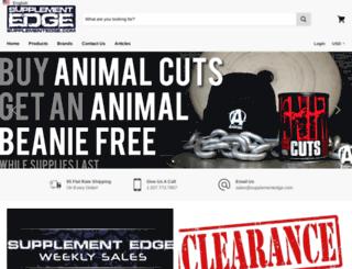 supplementedge.com screenshot