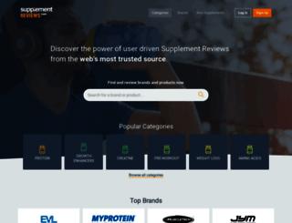 supplementreviews.com screenshot