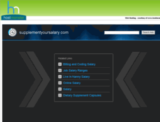 supplementyoursalary.com screenshot