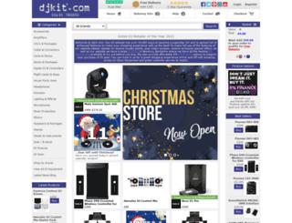 supplier.djkit.com screenshot