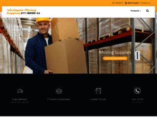 suppliesformoving.com screenshot