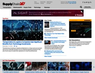 supplychain247.com screenshot