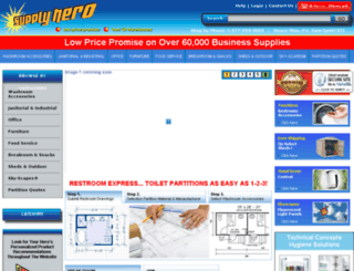 supplyhero.com screenshot