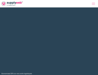 supplyweb.fr screenshot