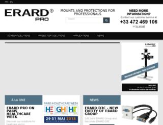 support-meuble-ecran-videoprojecteur.com screenshot