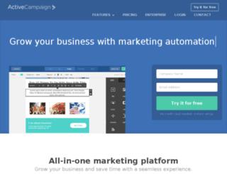 support.activecampaign.com screenshot