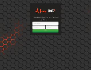 support.alonesolution.com screenshot