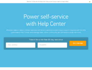 support.amandaonline.com screenshot